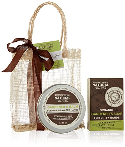 Whidbey Island Natural Gift Set - Gardener's, Handmade in the Pacific Northwest, USA