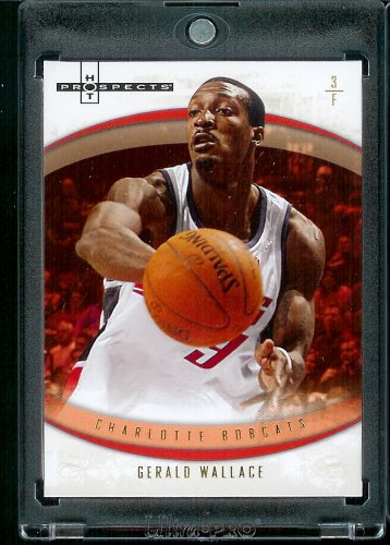 - Gerald Wallace Charlotte Bobcats (Basketball Card) 2007-08 Fleer Hot Prospects #39