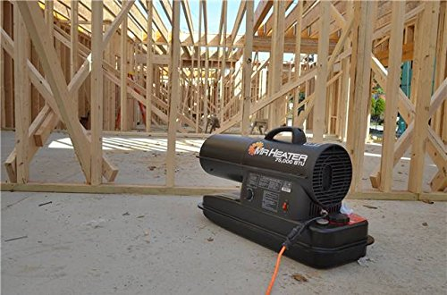 Mr. Heater F270270 MH75KTR Contractor 75,000-BTU Forced-Air Kerosene Heater
