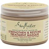 Shea Moisture Jamaican Black Castor Oil Strengthen and Restore Treatment Masque, 340 ml