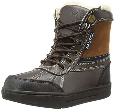 Amazon.com   Nautica Lockview Snow Boot (Little Kid/Big