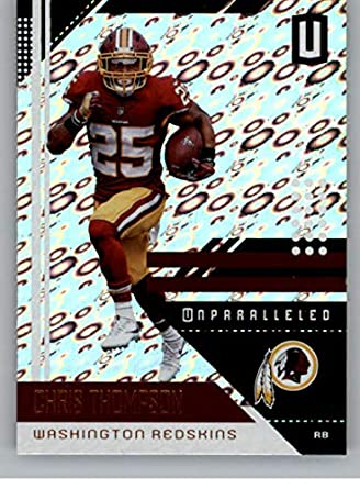 2018 Panini Unparalleled Flight Football Card  198 Chris Thompson  Washington Redskins Official NFL Trading Card 725523eb8