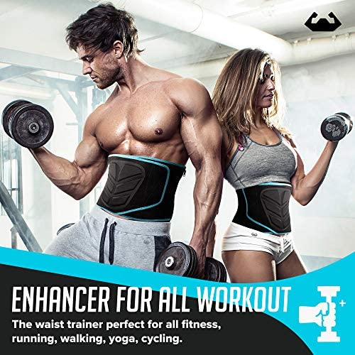 Back To Fit Waist Trimmer for Men and Women for Workout and Sweat ABS 2
