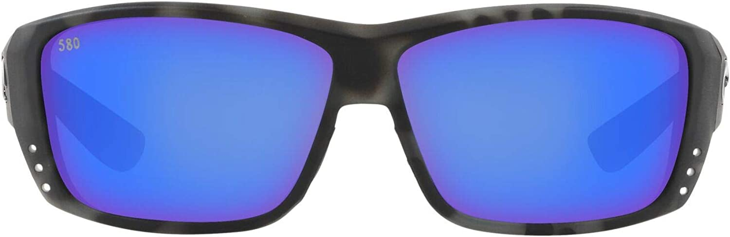 Costa Del Mar Men's Cat Cay Rectangular Sunglasses