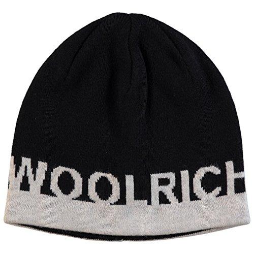 B's M Hat Woolrich Col Bambino Tg Basic Cappello Nero Wkacc1098 OwaF4S
