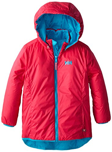 Helly Hansen Junior Synergy Jacket, 10, Magenta