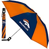 Denver Broncos NFL 42 Inch AUTOMATIC FOLDING UMBRELLA