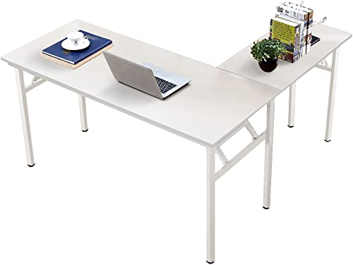 Editors' Choice: Need 55 inches x 55 inches L-Shaped Folding Computer Desk