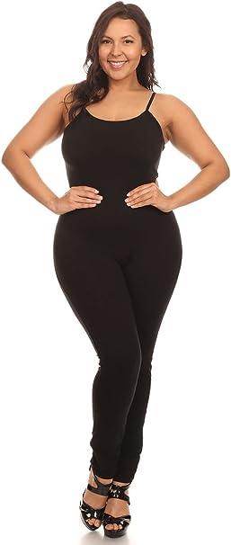Amazon.com: Body elástico de algodón para mujer, de ...