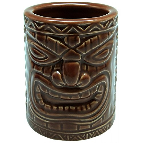 Hawaiian Lucky Tiki Shot Mug 1 oz.