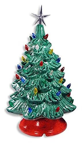 Lighted Christmas Tree Paint Your Own Ceramic Unfinished Low