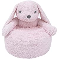 Cuddle Me Luxury Plush Chair, Bunny Pink