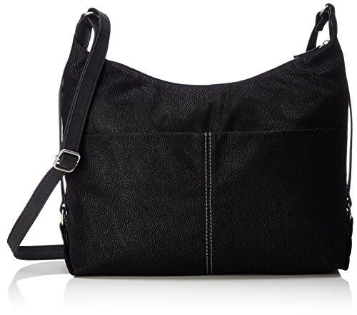 s.Oliver (Bags) Shoulder Bag - Shoppers y bolsos de hombro Mujer Negro (Black)