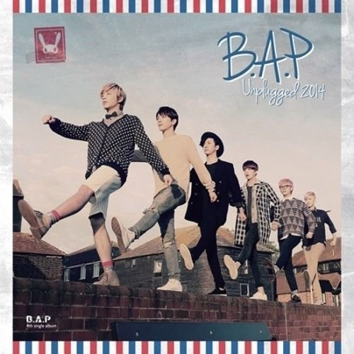 B.A.P. [ Unplugged 2014 ] 4th Single Album CD, Photocard and Booklet Sealed K-POP