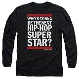 The Rap Game Next Hip Hop Superstar Unisex Adult Long-Sleeve T Shirt for Men and Women