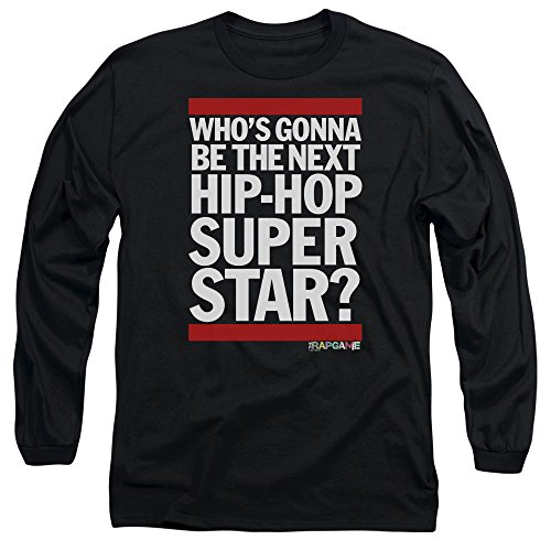 The Rap Game Next Hip Hop Superstar Unisex Adult Long-Sleeve T Shirt for Men and Women by Trevco