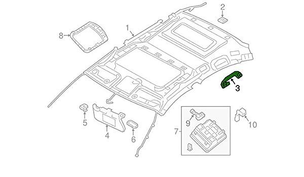 Amazon Com 2013 2016 Nissan Altima Murano Sentra Gray Roof Grab