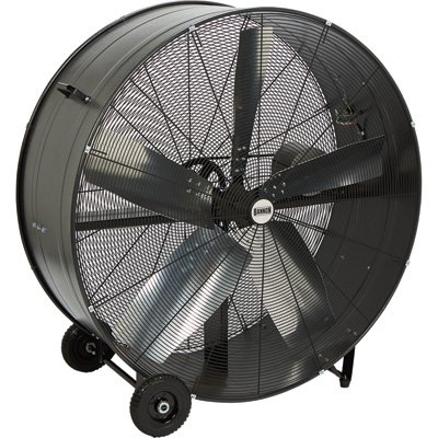 Bannon Enclosed Motor Belt Drive Drum Fan - 48in., 22,500 CFM