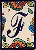 Hacienda Talavera Ceramic House Letter F