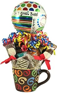 Amazon.com : Gift Basket Village To The Best Boss Gift ...