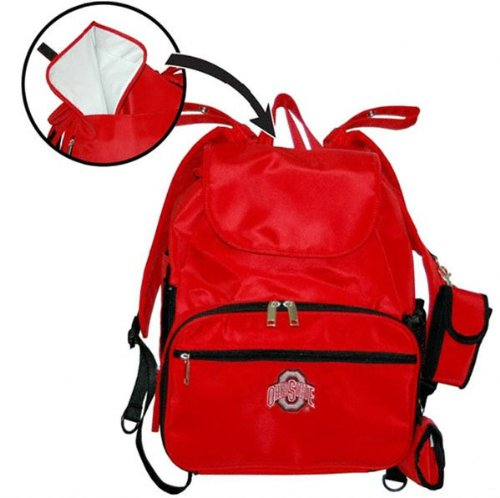 Ohio State Buckeyes Diaper Bag
