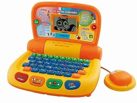 VTech - Mi primer ordenador, color naranja (80-101122)