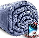 Zotlex Premium Weighted Blanket 20 lbs 60x80 inches Queen Size - Heavy Blanket - Cotton - Glass Beads