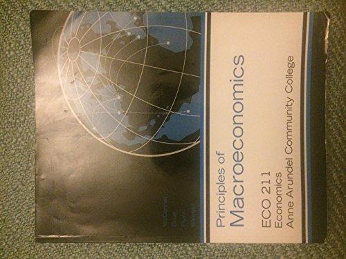 Principles of Macroeconomics ECO 211 Anne Arunde Community College