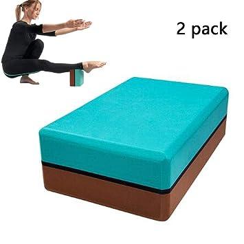 CWDXD Ladrillo de Yoga eva colorante 200 g de Alta Densidad ...