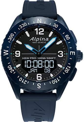 Alpina Smart Watch (Model: AL-283LBN5NAQ6)