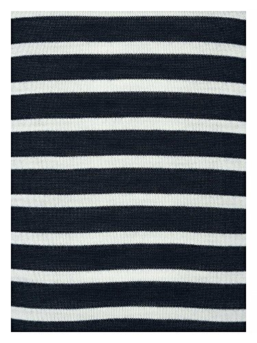 Samsoe & Samsoe Jersey de cuello vuelto 100% lana Mujer azul marino