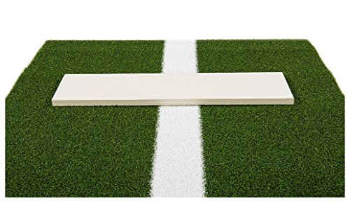 Pro-Ball Softball Pitching Mat with Power Line, Green - 3 feet x 10 feet by Unknown