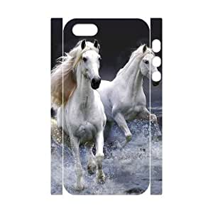 Horse 3D-Printed ZLB535202 Personalized 3D Cover Case for Iphone 5,5S