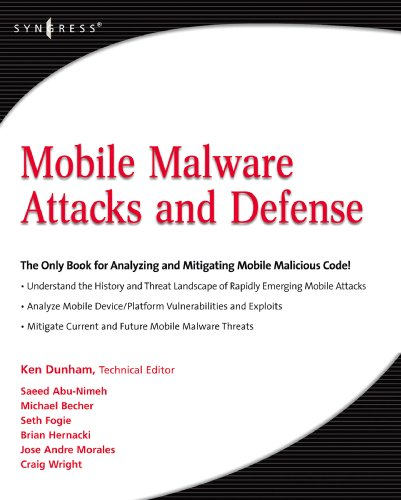 Download Mobile Malware Attacks and Defense Pdf