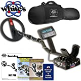 """White's MXT All Pro Metal Detector with 10"""" DD Search Coil and Gun Style Padded Carry Bag - 800-0342"""