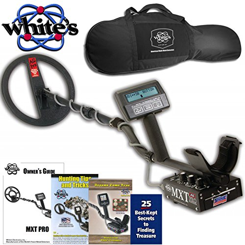 Ground Search Detector (White's MXT All Pro Metal Detector with 10