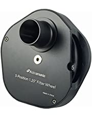 "Astromania 1.25"" Multiple 5-Position Filter Wheel for Telescope"