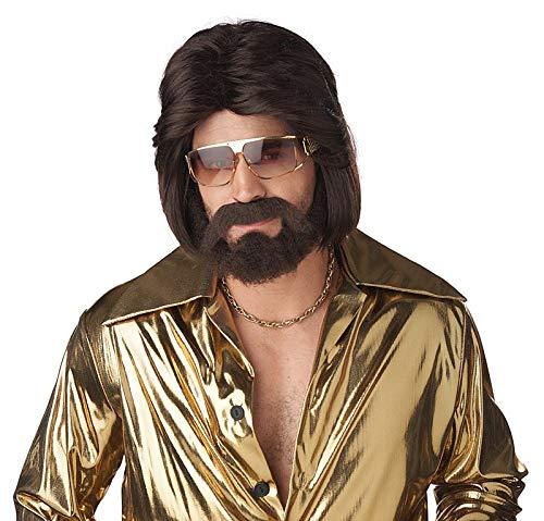 California Costumes Mens Sexy 70's Man Brunette