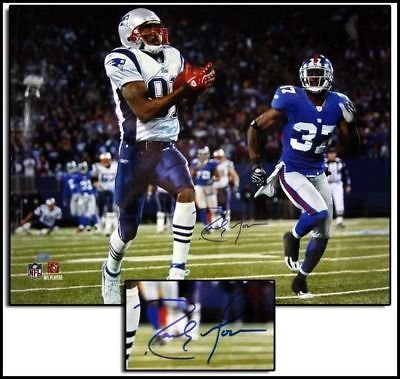 Patriots England Record New (Randy Moss New England Patriots Signed autographed record breaking TD 16x20)