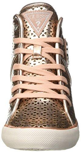 GUESS Jillie, Zapatillas de Tenis para Mujer dorado