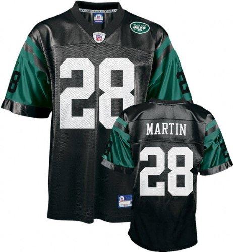 890bf8cb71330 Curtis Martin Black Reebok NFL Replica New York Jets Jersey - Medium