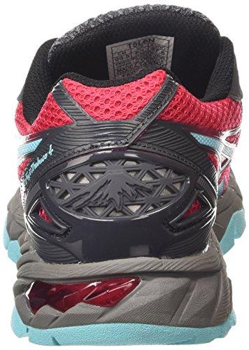 ASICS - Gel-fujitrabuco 4, Zapatillas de Running mujer Rosa (azalea/turquoise/black 2140)