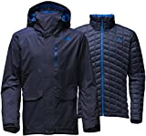 The North Face Men's ThermoBall Snow Triclimate Insulated Parka Ski Jacket - Large - Urban Navy