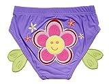 Lovely Sun Flower Baby Infant Purple Swim diapers/ Swim Brief, S size