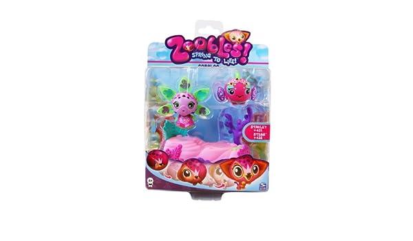 Coraloo - Twobles - Stanley #431 + Stegg #432 - Zoobles: Amazon.es: Hogar