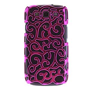 DUR Flower Chrome Case Cover for Samsung Galaxy S3 GT-I9300