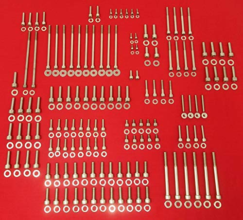 ALLOYBOLTZ - GM LS LS1 LS2 LS3 LS6 LS7 STAINLESS STEEL ENGINE ALLEN BOLT KIT ()