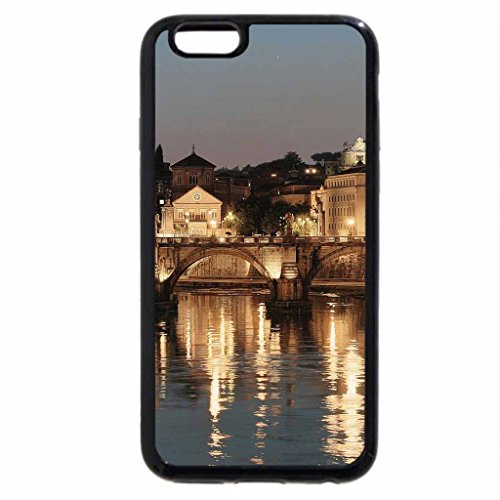 iPhone 6S / iPhone 6 Case (Black) cathedral by the tiber river in rome