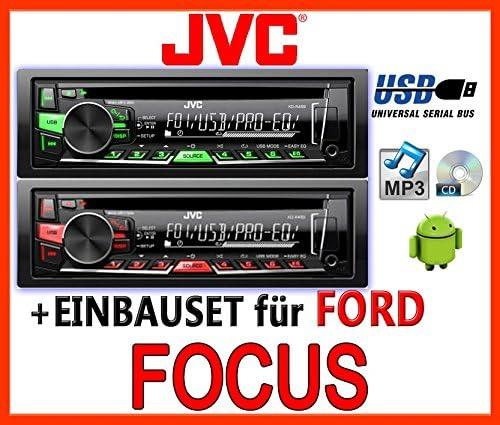 Ford Focus Mk1 Jvc Kd R469e Cd Mp3 Usb Autoradio Einbauset Elektronik