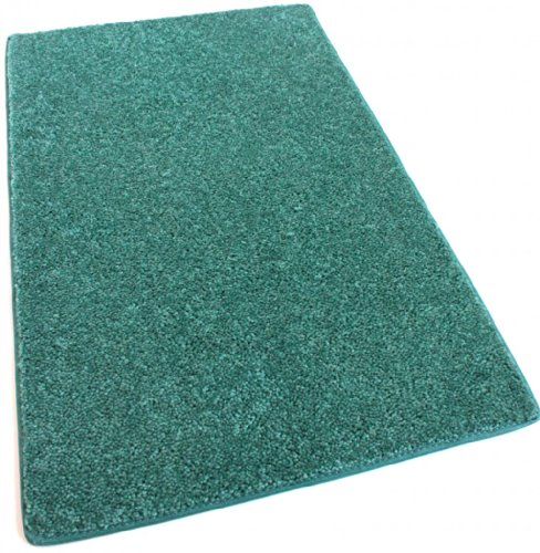 SQUARE 8'X8′ Real Teal 30 oz Durable Cut Pile Area Rug. Multiple sizes and shapes to choose from.